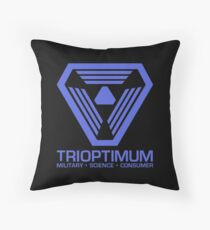 TriOptimum Corporation | Purple Throw Pillow