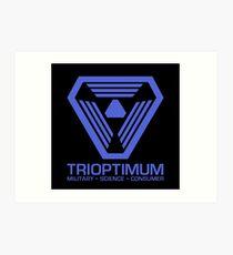 TriOptimum Corporation | Purple Art Print