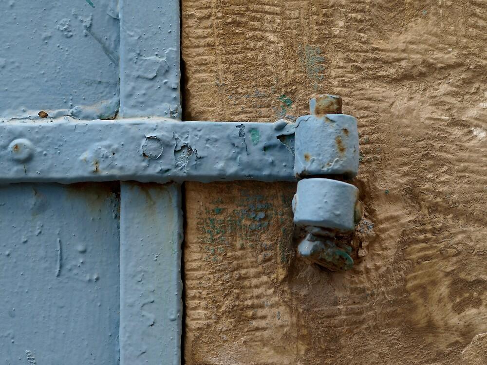 Blue shutter by MichaelBr
