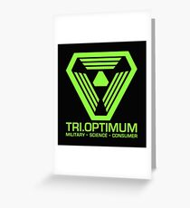 TriOptimum Corporation Greeting Card