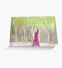 The Eldest Princess Greeting Card