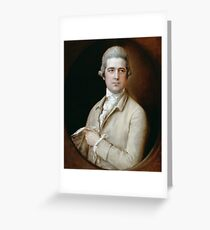 Thomas Linley the Elder by Thomas Gainsborough Greeting Card