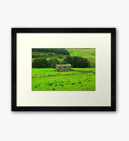 Dales Barns #2 Framed Print