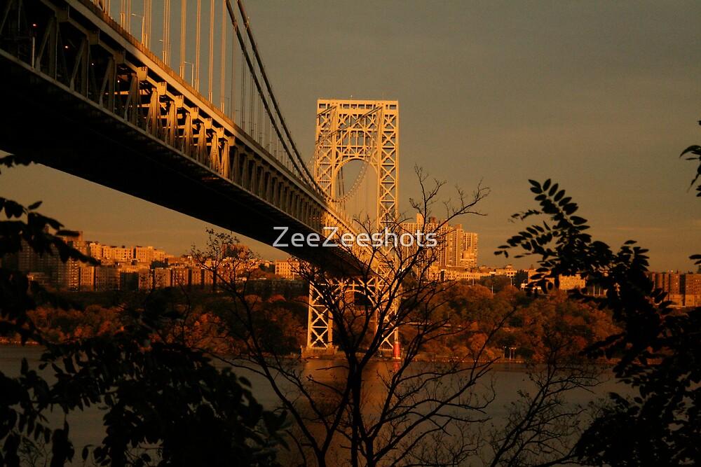 The George Washington Bridge by ZeeZeeshots