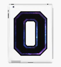 """O"" Varsity Letter iPad Case/Skin"