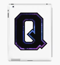 """Q"" Varsity Letters iPad Case/Skin"