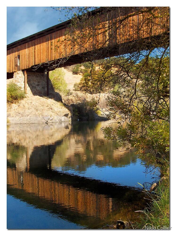 The Knights Ferry Bridge by Nikki Collier