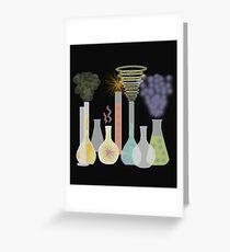 Chemistry Lab Greeting Card