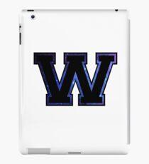 """W"" Varsity Letter iPad Case/Skin"