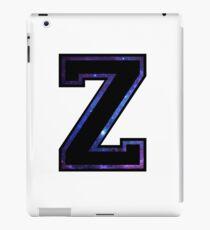 """""""Z"""" Varsity Letter iPad Case/Skin"""