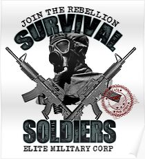 Survival Soldiers Poster