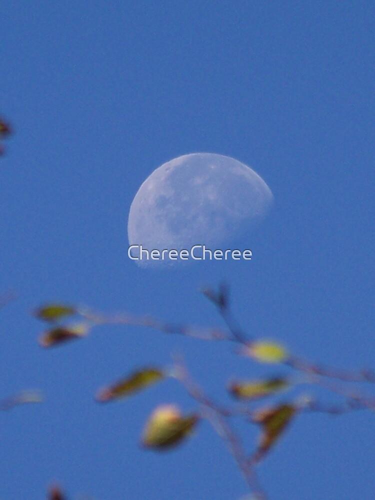 Daylight Moon by ChereeCheree