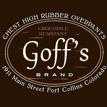 Goff's Brand Chest High Rubber Overpants by disneylander11
