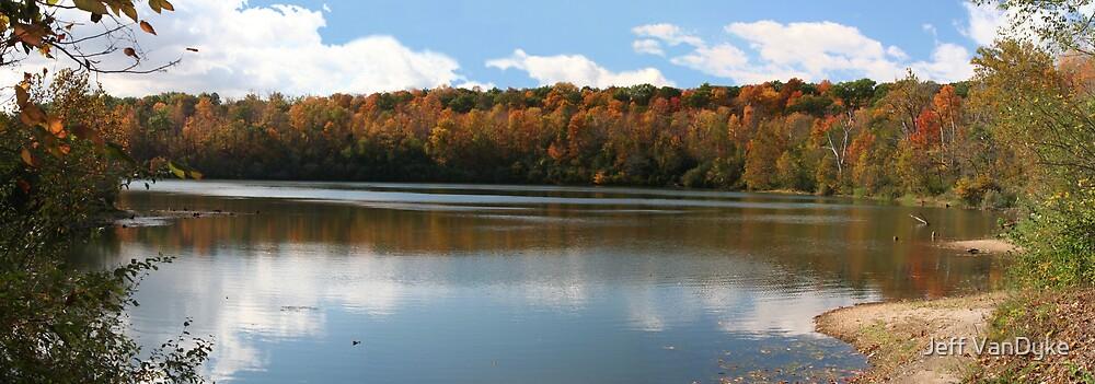 Fall at Kickapoo State Park by Jeff VanDyke