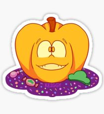 Halloween Osomatsu Pumpkin Sticker