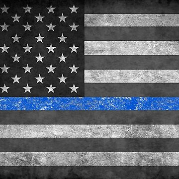 Thin Blue Line  by Patriot76