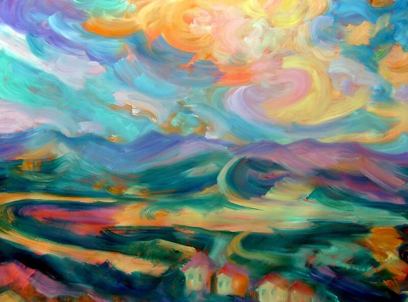 Landscape 777 by Nurhilal Harsa