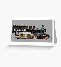 instrument train 2 Greeting Card