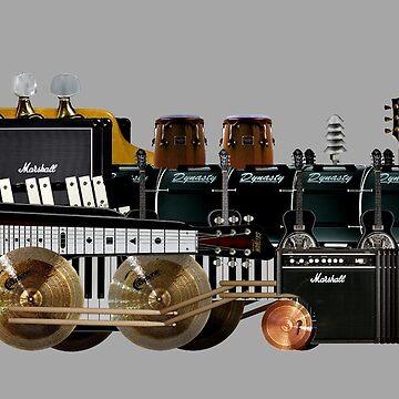 instrument train 2 by tinncity