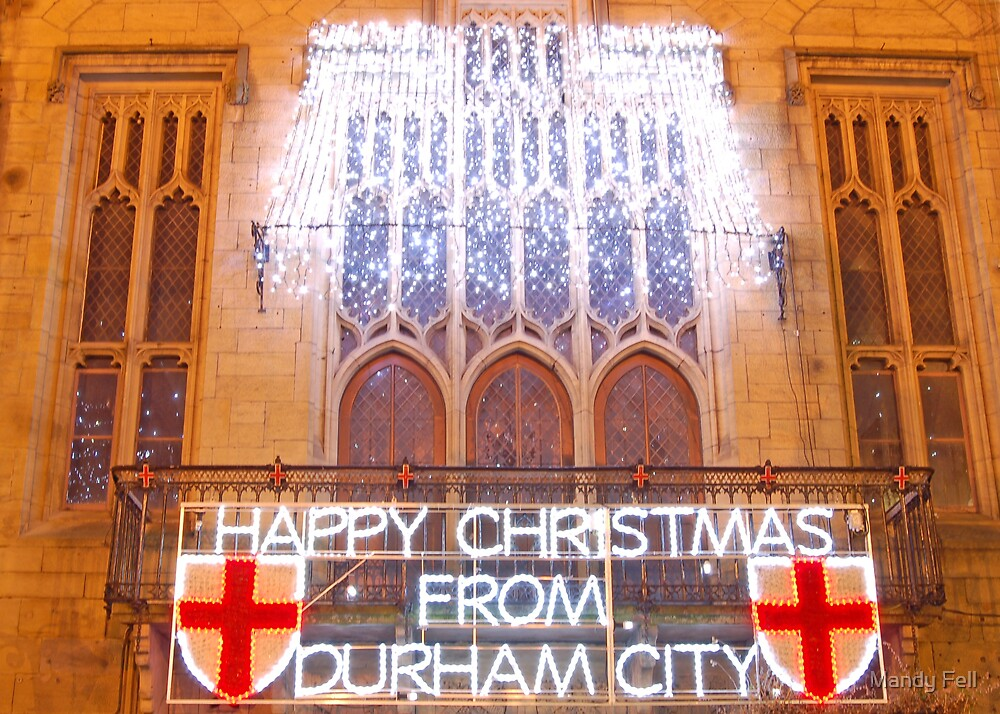 Merry Christmas from Durham by Mandy Fell