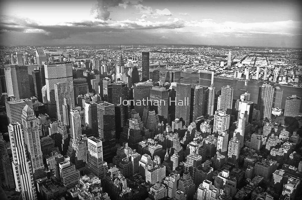 NYC Skyline by Jonathan Hall