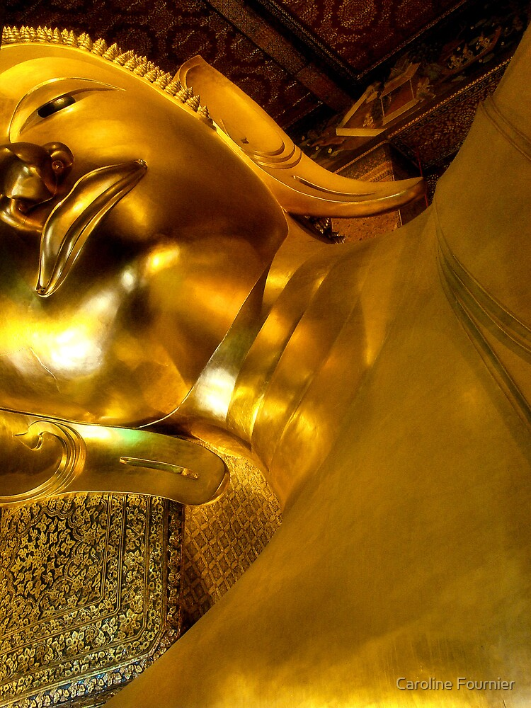 Reclining Buddha by Caroline Fournier