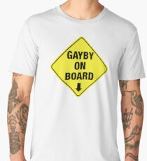 GAYBY ON BOARD clothing Men's Premium T-Shirt
