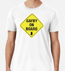 GAYBY ON BOARD clothing Premium T-Shirt
