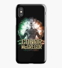 Notorious Conor McGregor energy explosion and rage iPhone Case