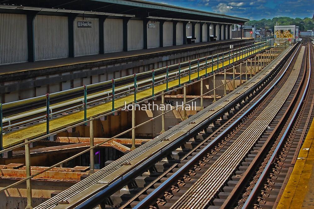 Happy Train Station by Jonathan Hall