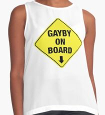 GAYBY ON BOARD clothing Contrast Tank