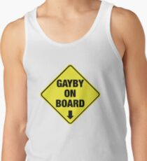 GAYBY ON BOARD clothing Tank Top