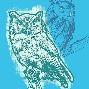 Psychic Owl by coriredford