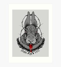 SPEAK NO EVIL - COWSLIP Art Print
