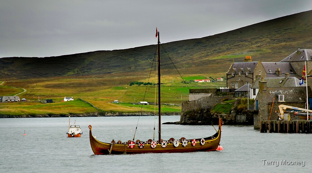 where have all the vikings gone? by Terry Mooney