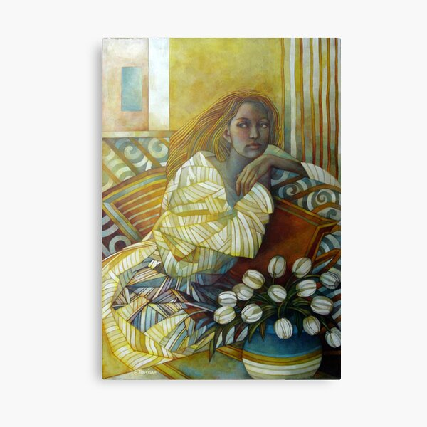 the golden time Canvas Print
