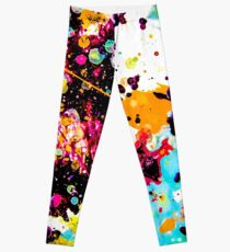 cosmic diversity — abstract modern art » tiny worlds Leggings