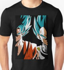 guku y  vegueta ss blue dbz super sayain T-Shirt