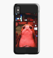 Porg from Star Wars phone cases and stickers iPhone Case/Skin