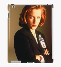 Scully X-files iPad Case/Skin