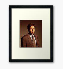 Mulder X-files Framed Print