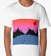 Sunset Fury Long T-Shirt