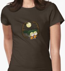 Lost In The Forest Women's Fitted T-Shirt