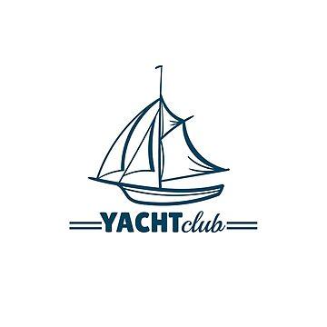 Yacht Club Badge by Chesnochok