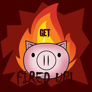 Fired Up! by jomzojeda