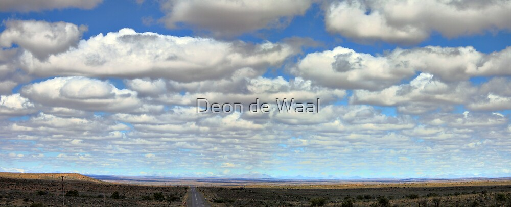 A Cloudless Sky - NOT! by Deon de Waal