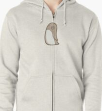 Dignified Penguin Zipped Hoodie