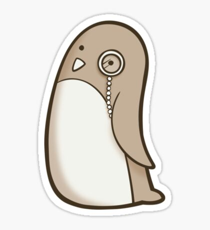Dignified Penguin Sticker