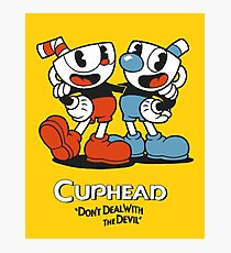Cuphead Don't Deal With the Devil Photographic Print