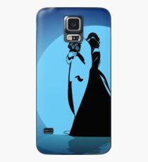 Silhouettes of the bride hugging the groom  Case/Skin for Samsung Galaxy